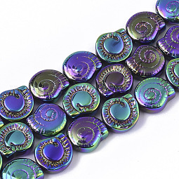 Electroplate Glass Beads Strands US-X-EGLA-S190-01B
