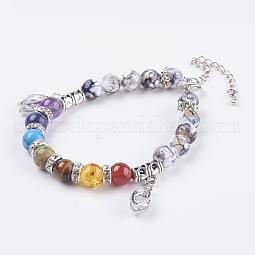 Chakra Jewelry US-BJEW-JB03525-01