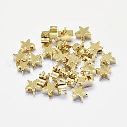 Long-Lasting Plated Brass Beads US-KK-K193-B-056G-NF