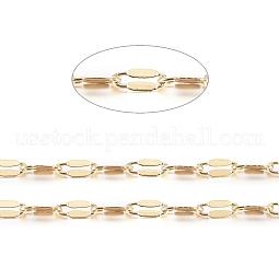 Brass Dapped Chains US-CHC-R126-02G