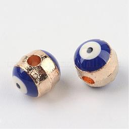 Alloy Enamel Beads US-ENAM-Q032-02