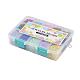 1 Box 15 Color 6/0 Glass Seed BeadsUS-SEED-X0023-B-4