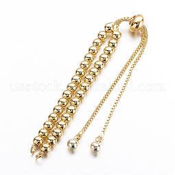 Brass Chain Bracelet Making US-KK-G291-02G-NR