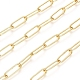Soldered Brass Paperclip ChainsUS-CHC-D025-03G-1