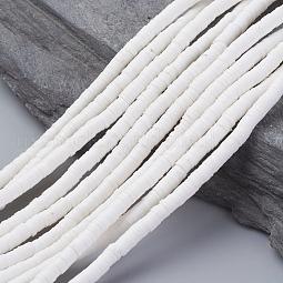 Eco-Friendly Handmade Polymer Clay Beads US-CLAY-R067-4.0mm-17