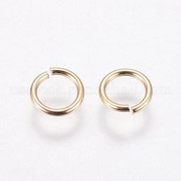Brass Open Jump Rings US-KK-WH0030-03B-G