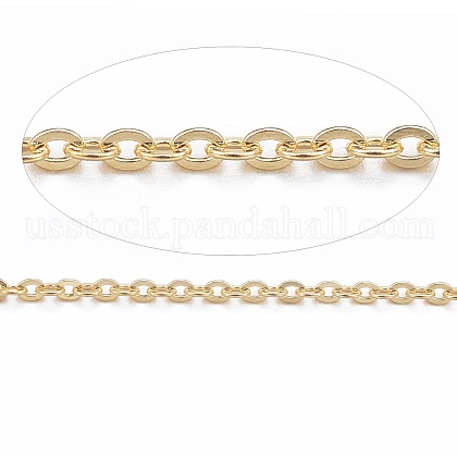 Vacuum Plating 304 Stainless Steel Cable ChainsUS-CHS-H007-01G-1