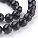 Natural Obsidian Beads StrandsUS-G-G099-12mm-24-3