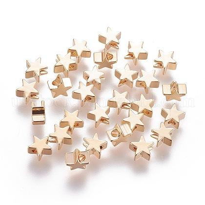 Brass BeadsUS-KK-L180-020G-NF-1