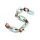 Handmade Acrylic Figaro ChainsUS-AJEW-JB00596-2