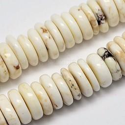 Natural Magnesite Beads Strands US-G-M138-43
