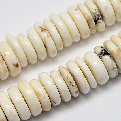 Natural Magnesite Beads StrandsUS-G-M138-43-1