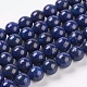 Natural Lapis Lazuli Beads StrandsUS-G-G087-10mm-1