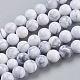 Natural Howlite Beads StrandsUS-TURQ-G091-6mm-1
