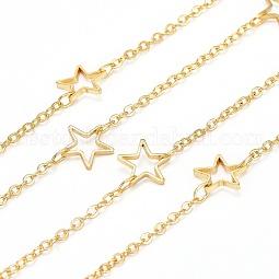 Handmade Brass Link Chains US-CHC-F010-02-G-A