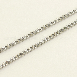 304 Stainless Steel Curb Chains US-CHS-R008-09