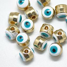 Alloy Enamel Beads US-ENAM-S117-01A