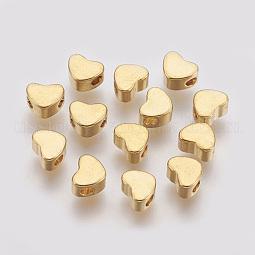 Brass Beads US-X-KK-T014-101G