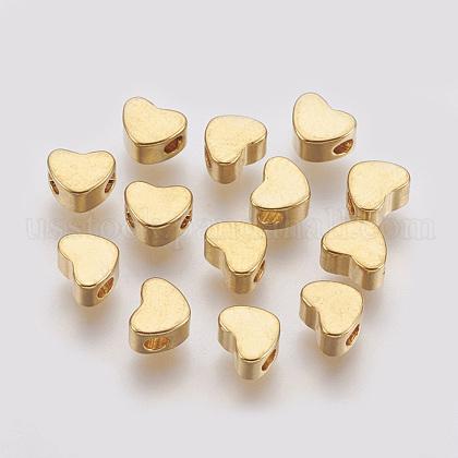 Brass BeadsUS-X-KK-T014-101G-1