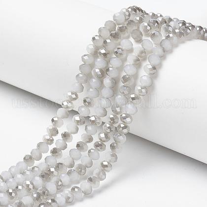 Electroplate Glass Beads StrandsUS-EGLA-A034-J10mm-E05-1