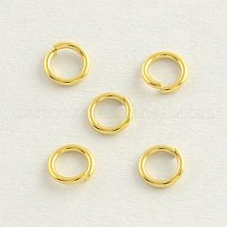 304 Stainless Steel Open Jump Rings US-STAS-R060-5x1.0