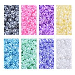6/0 Glass Seed Beads US-SEED-JQ0001-05-4mm