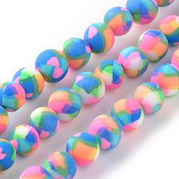 Handmade Polymer Clay Bead Strands US-CLAY-Q230-25