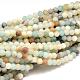 Natural Flower Amazonite Beads StrandsUS-G-G692-01F-6mm-1